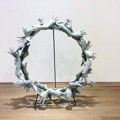 Concrete Wreath, 2013 Concrete, metal. 140 x 140 x 100 cm Unique Work
