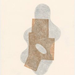 Rounded Figure, 2013 Mixed media on paper 30 x 21 cm
