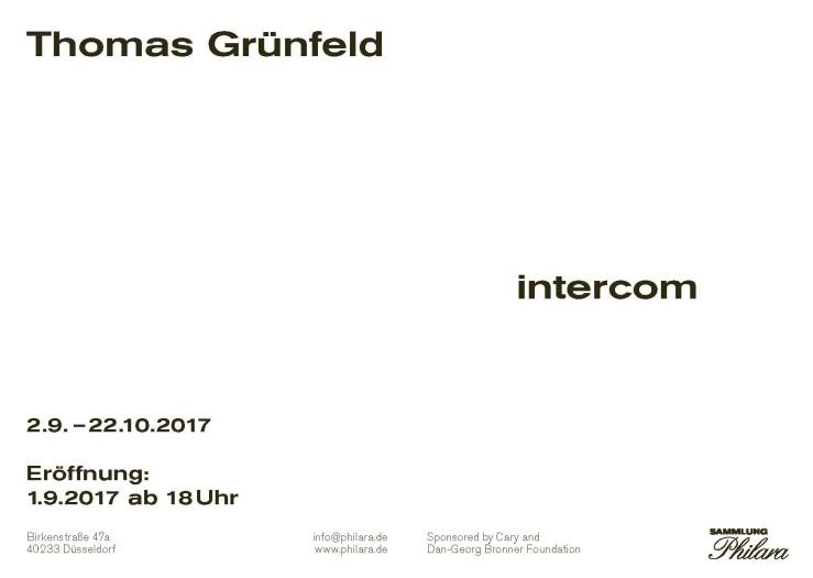 Thomas Grünfeld - intercom