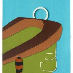 Young Steerer (Junger Lenker), 2011 Felt 141 x 102
